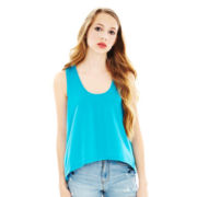 L'Amour by Nanette Lepore Keyhole-Back Swing Tank Top