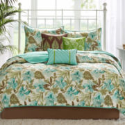 Madison Park Barbados 6-pc. Quilted Coverlet Set