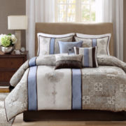 Madison Park Trenton 7-pc. Jacquard Comforter Set