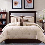 Madison Park Camden 7-pc. Geometric Comforter Set