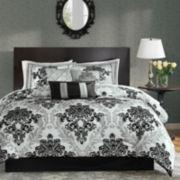 Madison Park Larissa 7-pc. Damask Comforter Set
