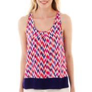 jcp™ Pleated Tank Top