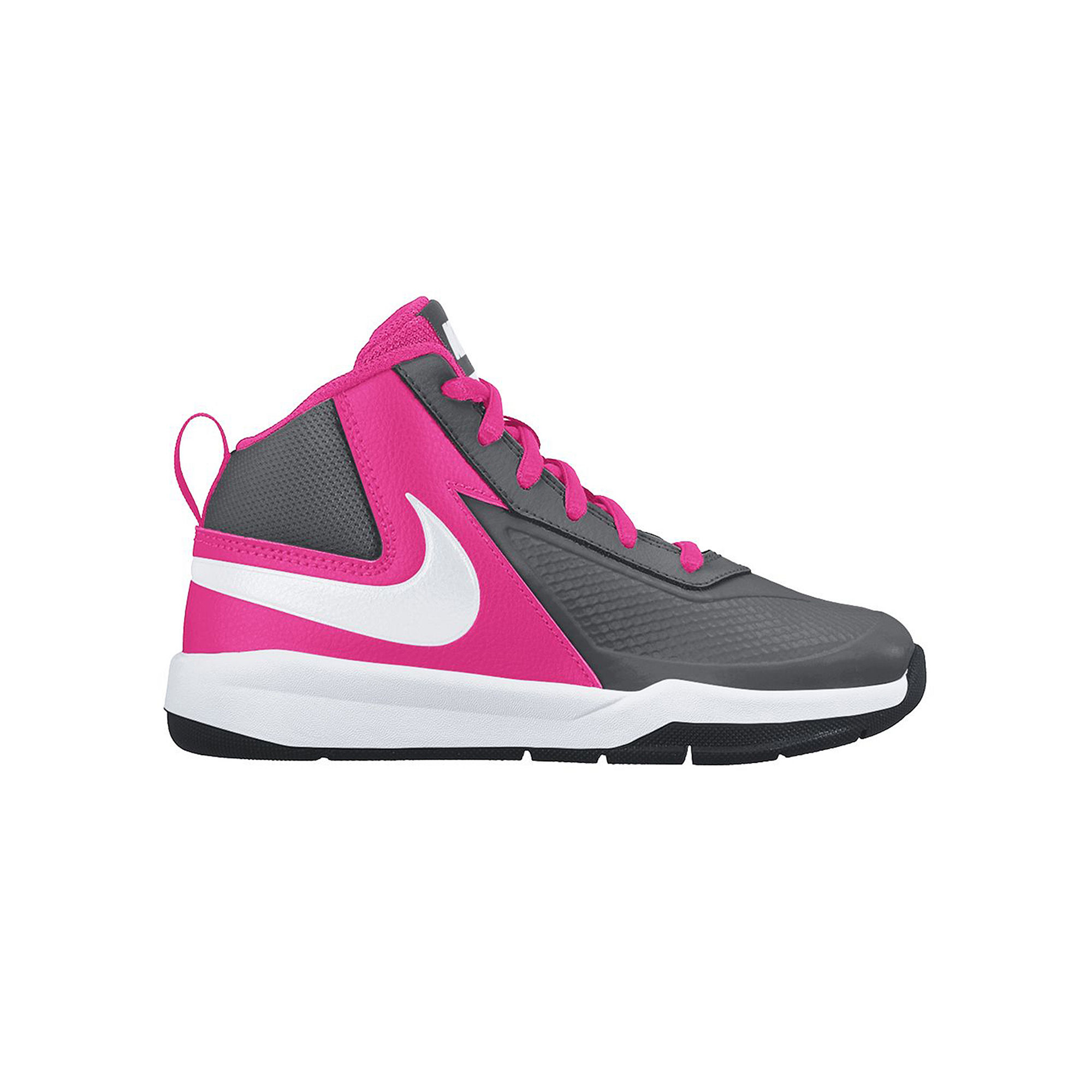 UPC 885259014059 product image for Nike Team Hustle D7 Girls Basketball Shoes - Little Kids/Big Kids | upcitemdb.com