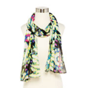 V. Fraas Tie-Dyed Scarf