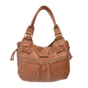 Bueno Pearlized Double Shoulder Bag