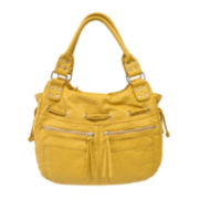 Bueno Ostrich Double Shoulder Bag