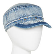 Mixit™ Lace and Denim Cadet Hat