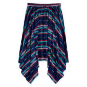 Arizona Handkerchief-Hem Maxi Skirt - Girls 7-16 and Plus