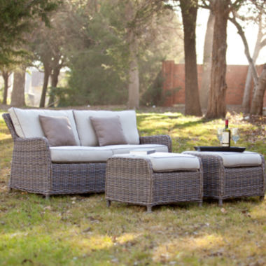 jcpenney.com | Rodanthe 3-pc. Outdoor Sofa and Ottoman Set