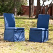 Tulum Set of 2 Outdoor Side Chairs