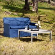 Tulum 2-pc. Outdoor Cocktail Table and Loveseat Set