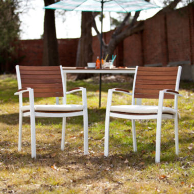 jcpenney.com | Seabrook Set of 2 Outdoor Easy Chairs