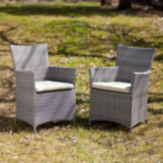Corolla Set of 2 Outdoor Easy Chairs