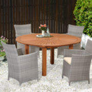Corolla 5-pc. Outdoor Patio Set