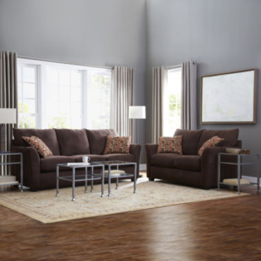 jcpenney.com | Oliver Custom Sofa and Loveseat Collection