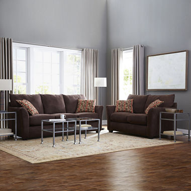 Oliver Sofa And Loveseat Set