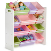 Honey-Can-Do® 12-Bin Kids Storage Organizer