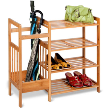 jcpenney.com | Honey-Can-Do® 4-Tier Bamboo Entryway Organizer