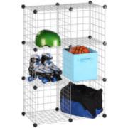 Honey-Can-Do® 6-Pack Modular Mesh Storage Cubes