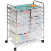 Honey-Can-Do® 12-Drawer Studio Organizer Cart