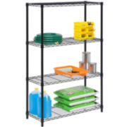 Honey-Can-Do® 4-Tier Shelving Unit