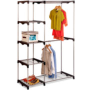 Honey-Can-Do® Double-Rod Freestanding Closet