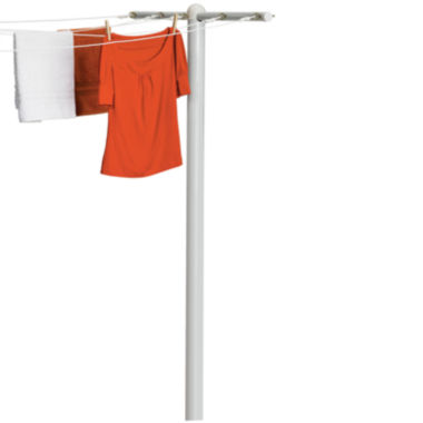 jcpenney.com | Honey-Can-Do® 5-Line Outdoor Clothesline T-Post