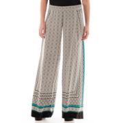 Liz Claiborne® Scarf Print Soft Pants