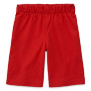 Okie Dokie® Knit Pull-On Shorts - Toddler Boys 2t-5t