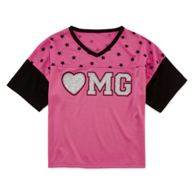 jcpenney.com | Total Girl® Varsity Tee - Girls 7-16 and Plus