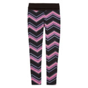 Xersion™ Print Skinny Yoga Pants - Girls 7-16 and Plus