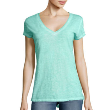 jcpenney.com | a.n.a® Relaxed Fit V-Neck T-Shirt- Tall