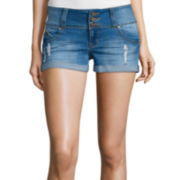 YMI® Fit Solution Denim Shorts