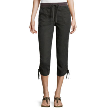 jcpenney.com | St. John's Bay® Drawstring Cropped Pants - Tall
