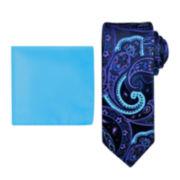 Steve Harvey® Paisley Tie and Pocket Square Set