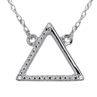jcpenney.com | Diamond Accent 14K White Gold Necklace
