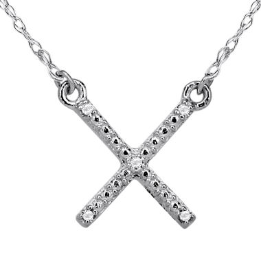 jcpenney.com | Diamond Accent 14K White Gold Necklace 1