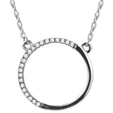 jcpenney.com | Diamond Accent 14K White Gold Necklace 2