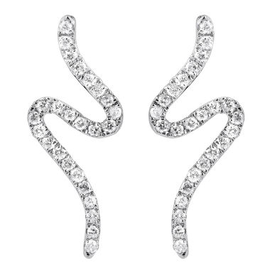 jcpenney.com | 1/10 Diamond 14K White Gold Earring