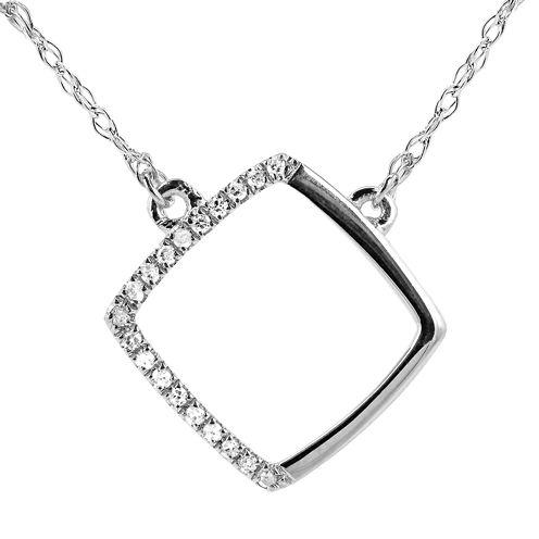Diamond Accent 14K White Gold Necklace 3