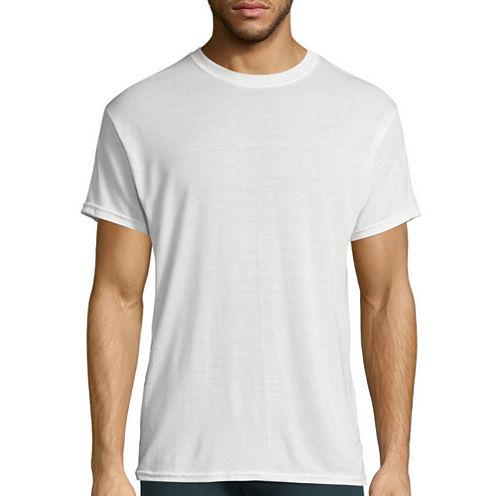 Hanes Men's X-Temp® Comfort Cool® FreshIQ™ Dyed Crewneck Undershirt 3-Pack