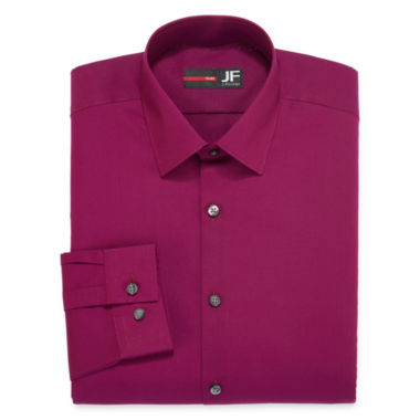 jcpenney.com | JF J. Ferrar® Long-Sleeve Easy-Care Solid Dress Shirt