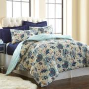 Pacific Coast Textiles Hope 6-pc. Reversible Comforter Set