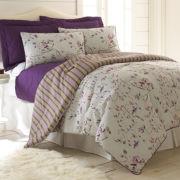 Pacific Coast Textiles Chloe 6-pc. Reversible Comforter Set