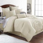 Pacific Coast Textiles Marilyn Linen 8-pc. Comforter Set