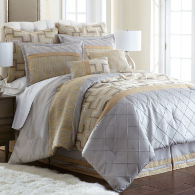 jcpenney.com | Pacific Coast Textiles Maddox 8-pc. Comforter Set