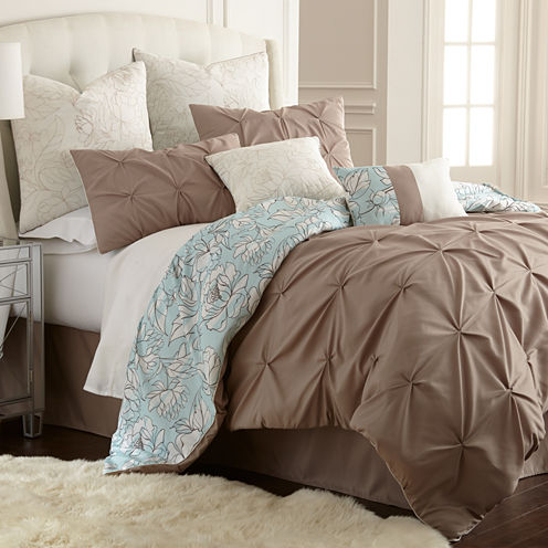 Pacific Coast Textiles Lorna 8-pc. Comforter Set