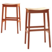 Signature Design by Ashley® Bantilly Set of 2 Barstools