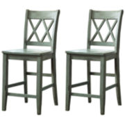 Signature Design by Ashley® Mestler Set of 2 Barstools
