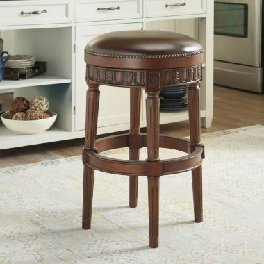 jcpenney.com | Signature Design by Ashley® North Shore Upholstered Swivel Bar Stool